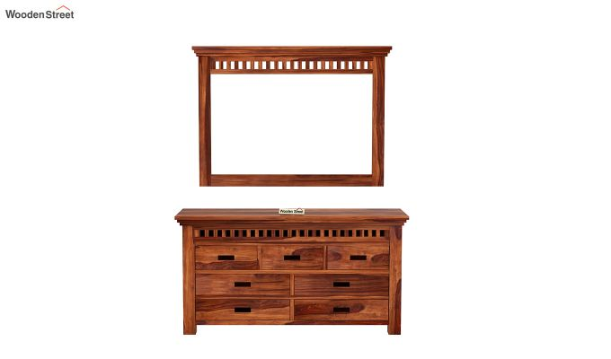 Adolph Dressing Table (Honey Finish)-3