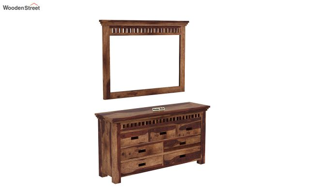 Adolph Dressing Table (Teak Finish)-2