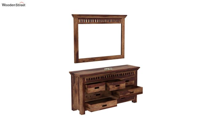 Adolph Dressing Table (Teak Finish)-4