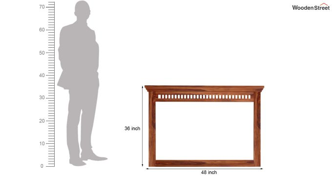 Adolph Dressing Table (Teak Finish)-4