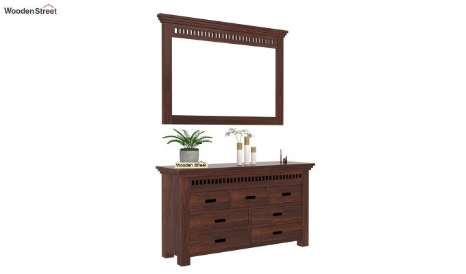 Adolph Dressing Table (Walnut Finish)-1