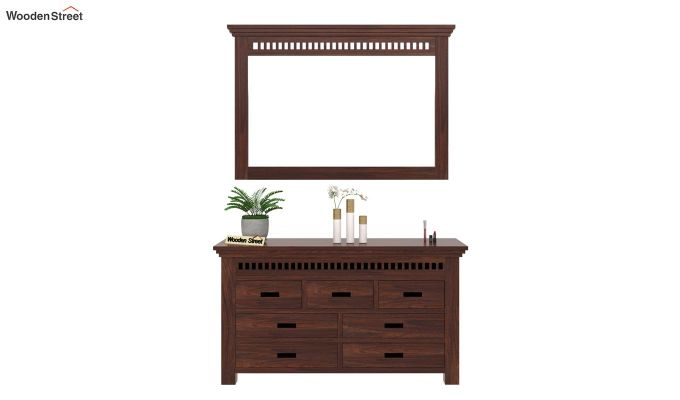 Adolph Dressing Table (Walnut Finish)-2