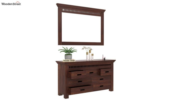 Adolph Dressing Table (Walnut Finish)-3