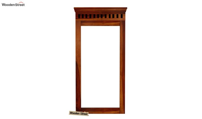 Adolph Wall Mounted Dresser (Honey Finish)-3