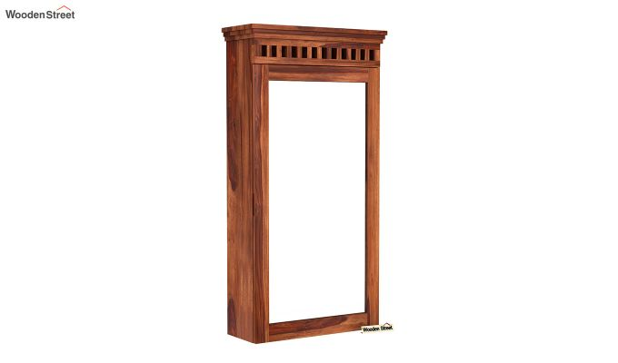Adolph Wall Mounted Dresser (Honey Finish)-2