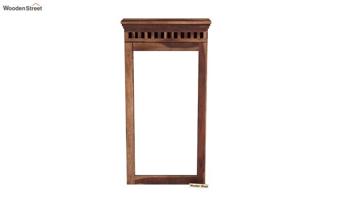 Adolph Wall Mounted Dresser (Teak Finish)-3