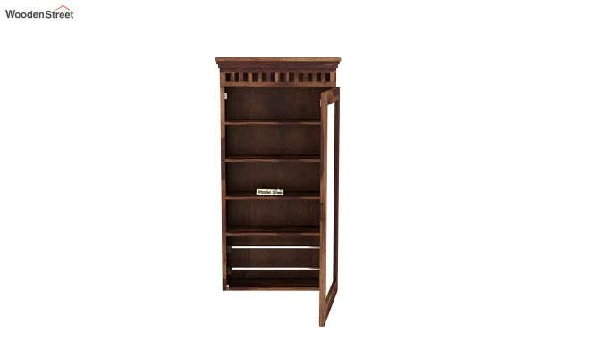 Adolph Wall Mounted Dresser (Teak Finish)-5