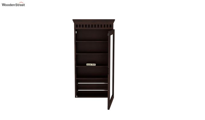 Adolph Wall Mounted Dresser (Walnut Finish)-5