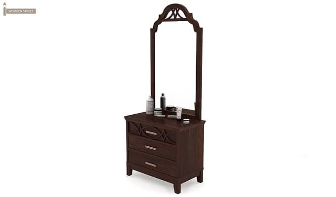 Allan Dressing Table (Walnut Finish)-4