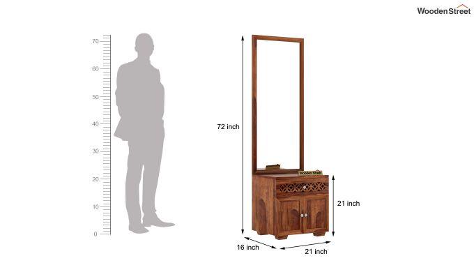Cambrey Dressing Unit (Teak Finish)-5