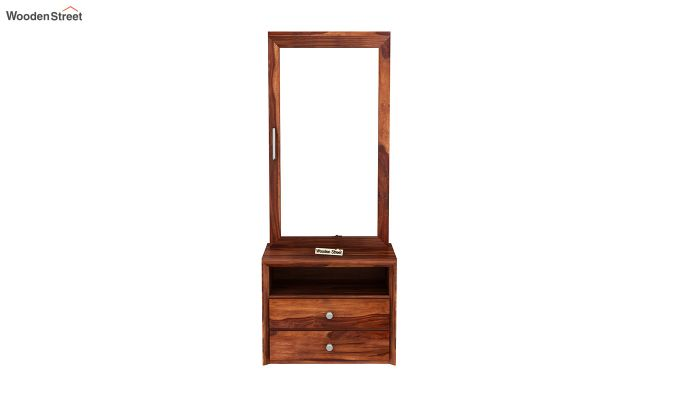 Carvel Dressing Table (Honey Finish)-3