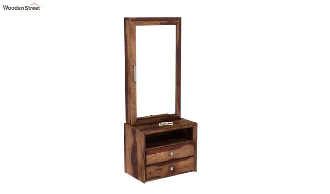 Carvel Dressing Table (Teak Finish)-2
