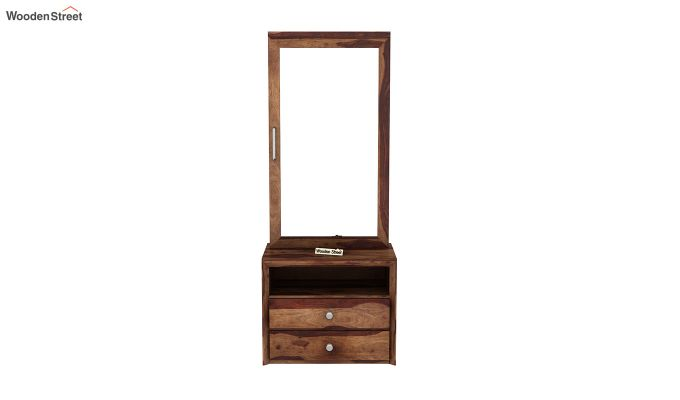 Carvel Dressing Table (Teak Finish)-3