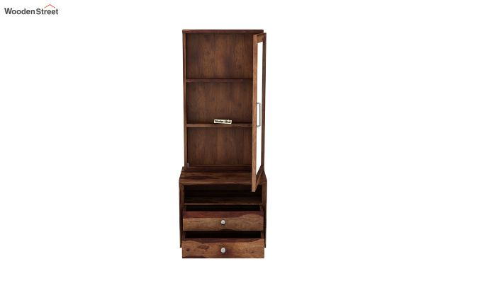 Carvel Dressing Table (Teak Finish)-6