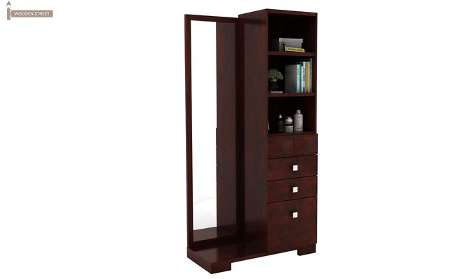 Cinader Dressing Table (Mahogany Finish)-2