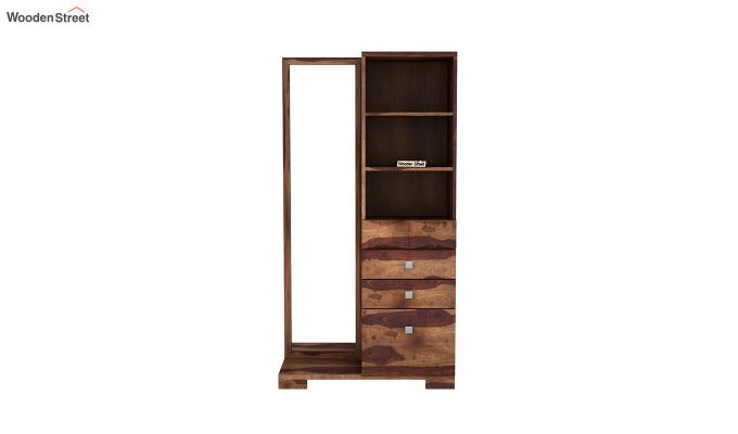Cinader Dressing Table (Teak Finish)-3