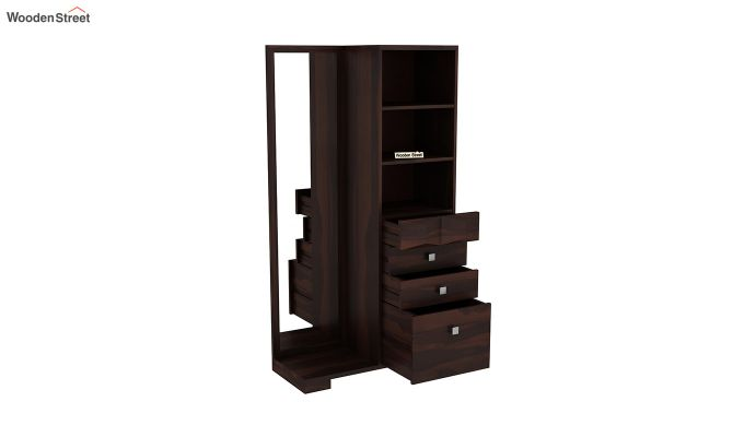 Cinader Dressing Table (Walnut Finish)-4