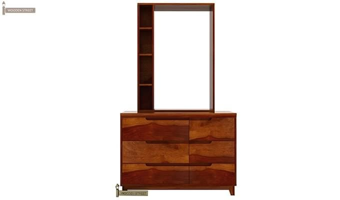 Durant Dressing Table (Honey Finish)-4