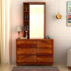 Durant Dressing Table (Honey Finish)