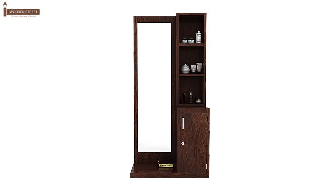 Eden Dressing Table (Walnut Finish)-2