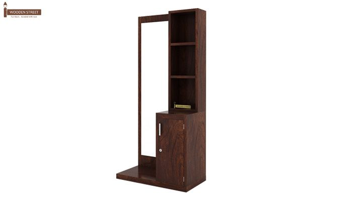 Eden Dressing Table (Walnut Finish)-5