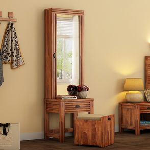 Dressing Tables Buy Wooden Dressing Table With Mirror Online