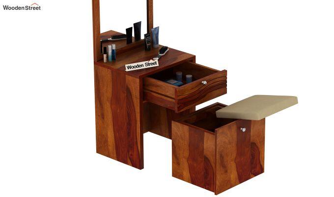 Franklin Dressing Table (Honey Finish)-5