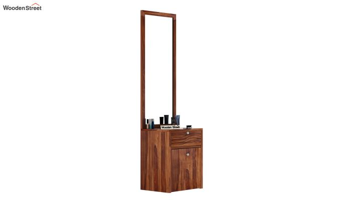 Franklin Dressing Table (Teak Finish)-2