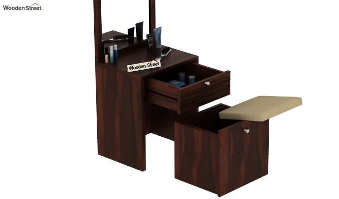 Franklin Dressing Table (Walnut Finish)-5