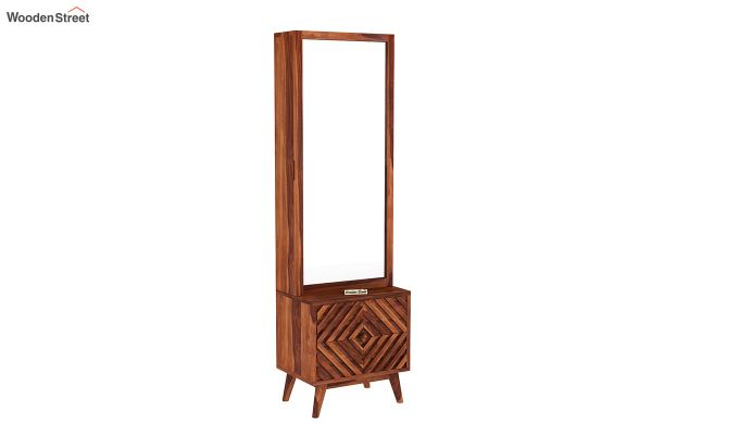 Horton Dressing Table (Honey Finish)-2