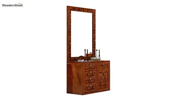 Howler Dressing Table (Honey Finish)-2