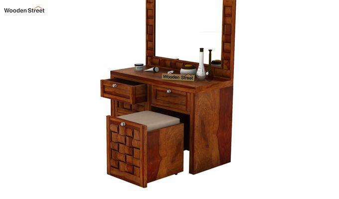 Howler Dressing Table (Honey Finish)-5