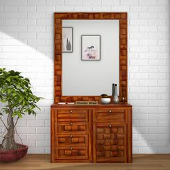 Howler Dressing Table (Honey Finish)