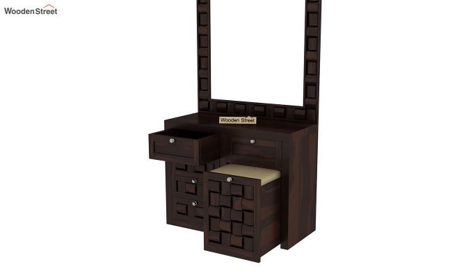 Howler Dressing Table (Walnut Finish)-4