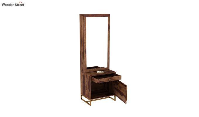 Jett Dressing Table (Teak Finish)-4