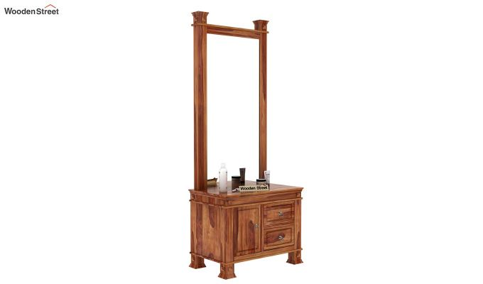 Kingsley Dressing Table (Teak Finish)-1