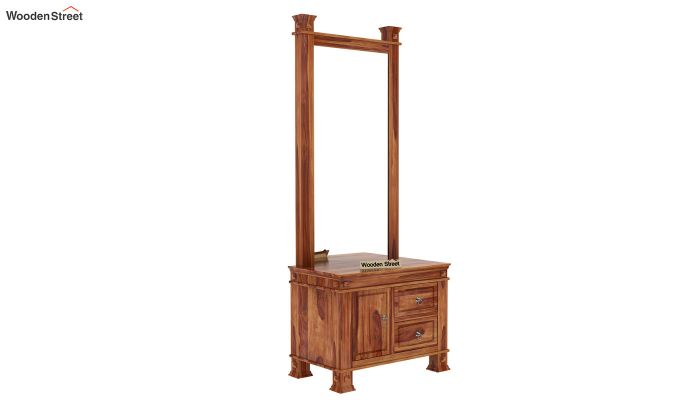 Kingsley Dressing Table (Teak Finish)-3
