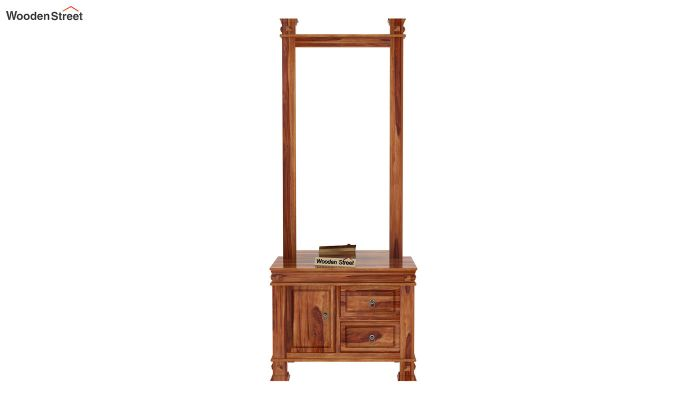 Kingsley Dressing Table (Teak Finish)-4