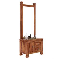 Kingsley Dressing Table (Teak Finish)