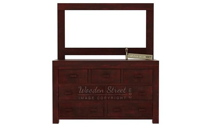 Laura Dressing Table (Mahogany Finish)-1