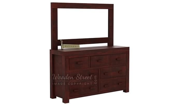 Laura Dressing Table (Mahogany Finish)-2