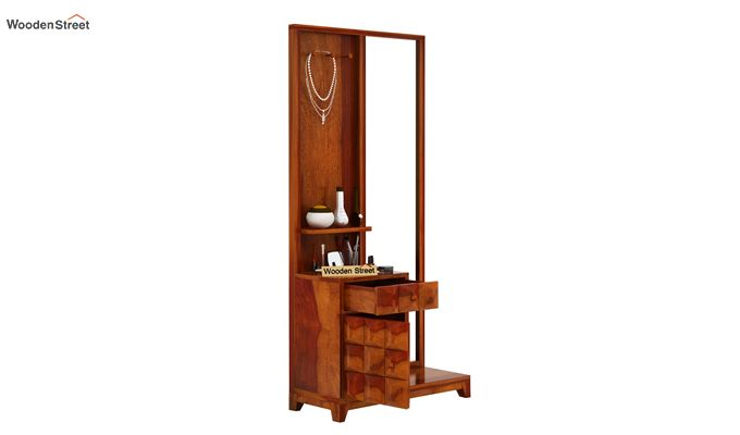 Morse Dressing Table (Honey Finish)-4