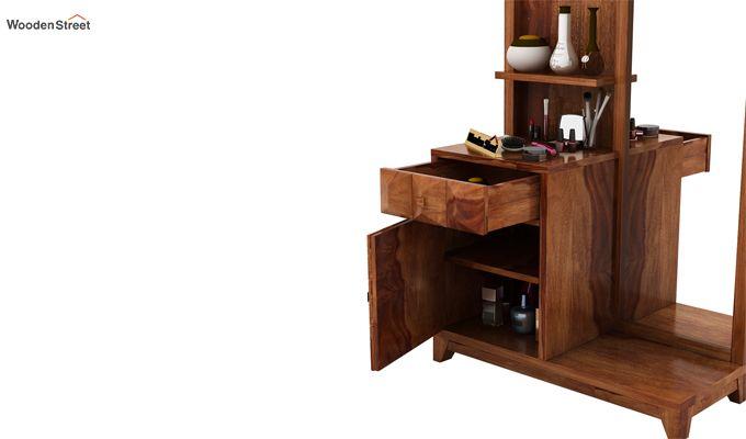 Morse Dressing Table (Teak Finish)-4