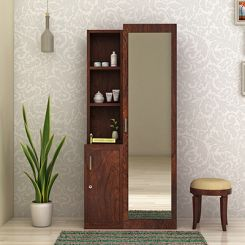 Sharon Dressing Table (Walnut Finish)
