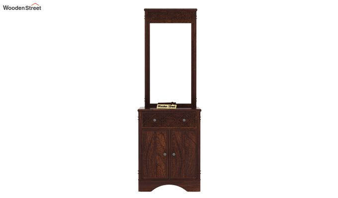 Swirl Dressing Table (Walnut Finish)-6