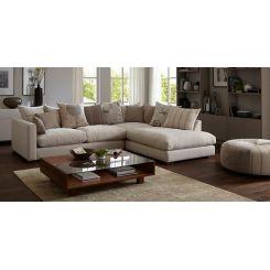 Adler L Shape Sofa (White)