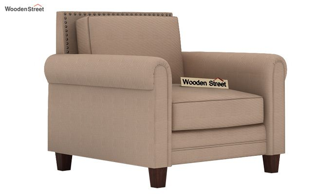 Aldean 2 Seater Fabric Sofa (Irish Cream)-3