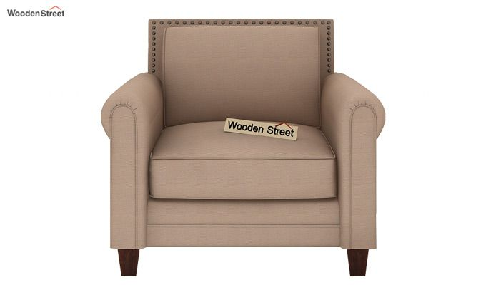 Aldean 2 Seater Fabric Sofa (Irish Cream)-4