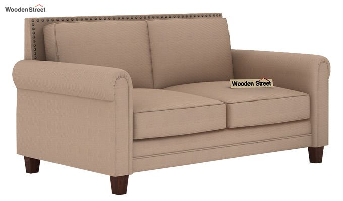 Aldean 2 Seater Fabric Sofa (Irish Cream)-1