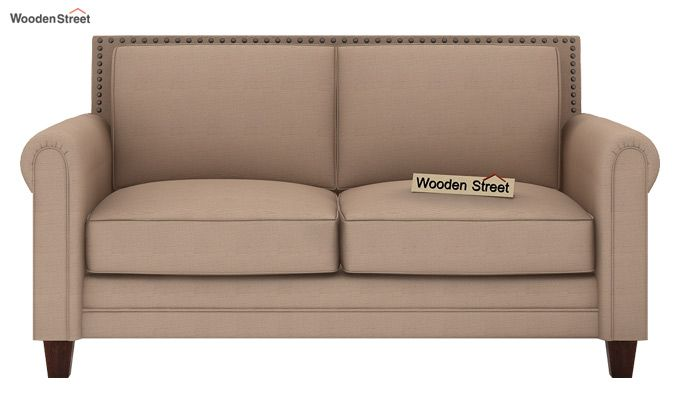 Aldean 2 Seater Fabric Sofa (Irish Cream)-2